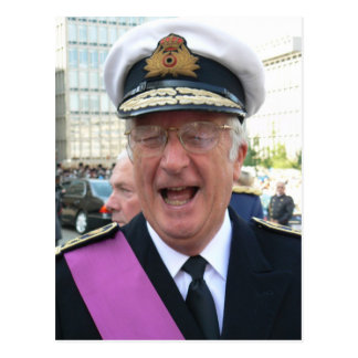 HM King Albert II King of the Belgians Postcards