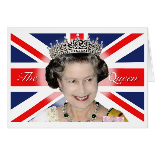 HM Queen Elizabeth II Card