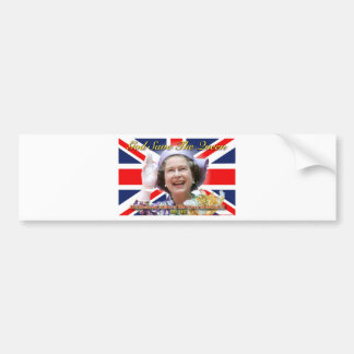 HM Queen Elizabeth II Diamond Jubilee Bumper Sticker