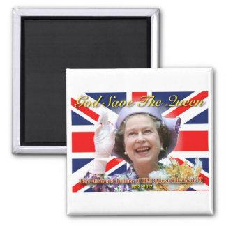 HM Queen Elizabeth II Diamond Jubilee Magnet
