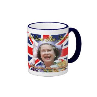 HM Queen Elizabeth II Diamond Jubilee Mug