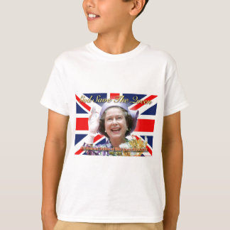 HM Queen Elizabeth II Diamond Jubilee T-Shirt