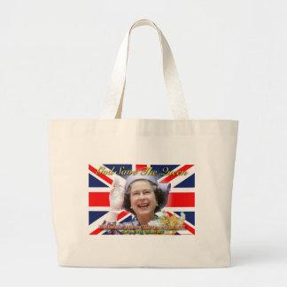 HM Queen Elizabeth II Diamond Jubilee Jumbo Tote Bag