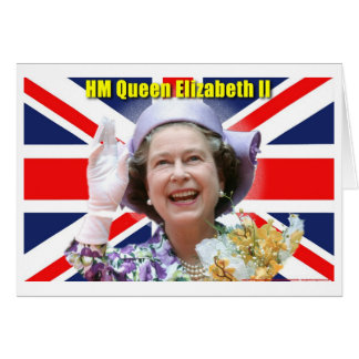HM Queen Elizabeth II Greeting Card