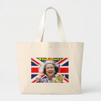 HM Queen Elizabeth II Jumbo Tote Bag