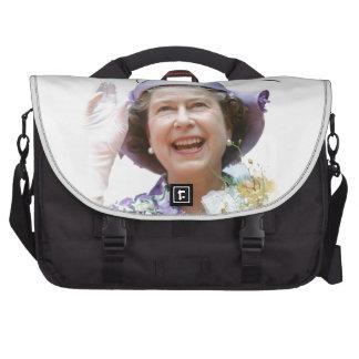 HM Queen Elizabeth II Laptop Shoulder Bag