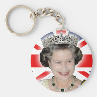 HM Queen Elizabeth II - Majestic! Key Ring