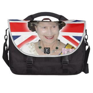 HM Queen Elizabeth II - Majestic! Computer Bag