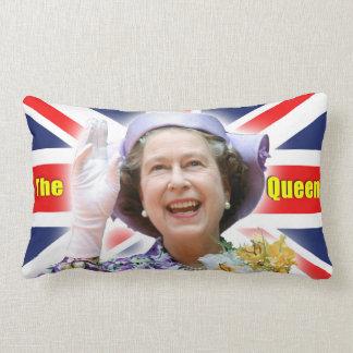 HM Queen Elizabeth II - Majestic! Lumbar Cushion
