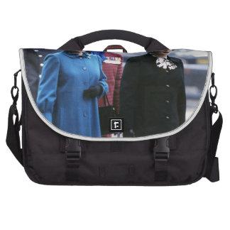 HM Queen Elizabeth II-Margaret Thatcher Laptop Bag