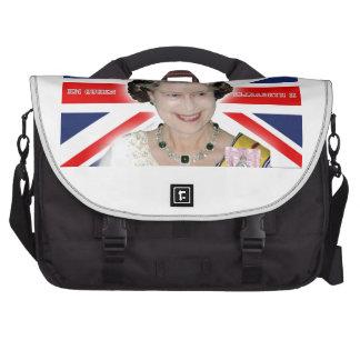 HM Queen Elizabeth II - Pro photo Bags For Laptop