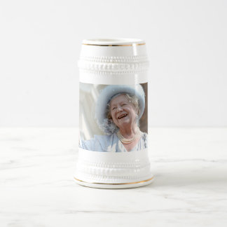 HM Queen Elizabeth, the Queen Mother 1990 Beer Stein