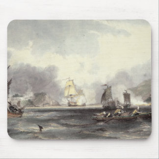 HM Ships Imogene and Andromache passing the Batter Mouse Mat