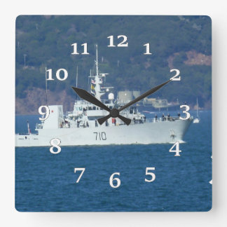 HMCS Brandon Square Wall Clock