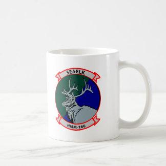 HMM-166 insignia Classic White Coffee Mug