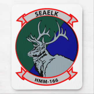 HMM-166 insignia Mouse Pad