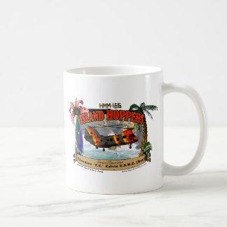 HMM-166 Island Hoppers Basic White Mug