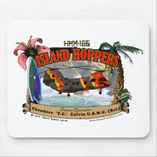 HMM-166 Island Hoppers Mouse Pad