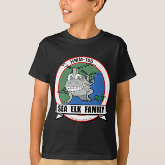HMM-166  'Sea Elk Family' T-Shirt