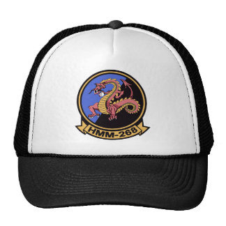 HMM-268 Red Dragons Trucker Hats