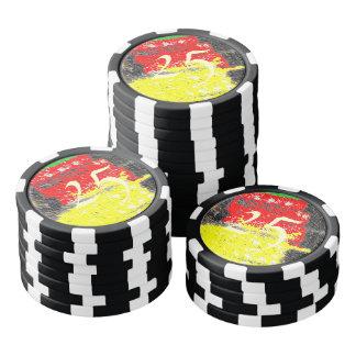 Hmm awful art poker chips