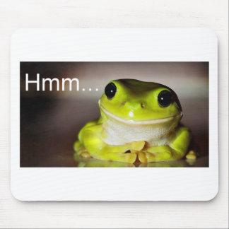 Hmm Frog Mouse Mat
