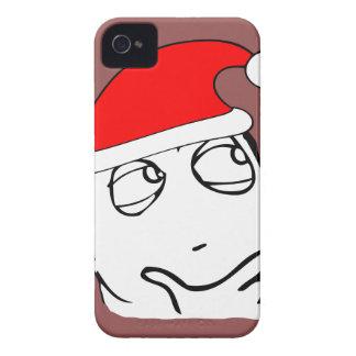 hmm xmas meme Case-Mate iPhone 4 case