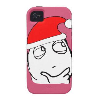 hmm xmas meme Case-Mate iPhone 4 covers