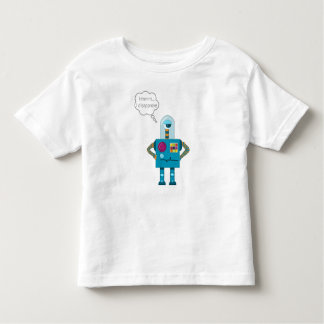 """Hmmm...I disapprove"" robot t-shirt"