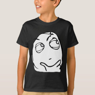 Hmmm Internet Meme T-shirts