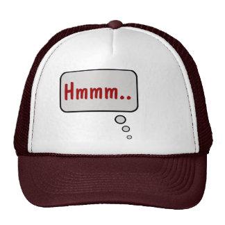 Hmmm Think Bubble Hat