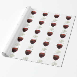 Hmmmmm Wine Wrapping Paper