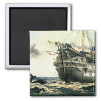 HMS Agamemnon laying the original Atlantic cable, Fridge Magnets