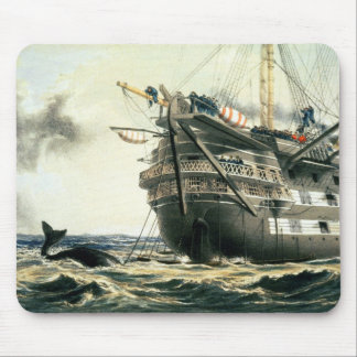 HMS Agamemnon laying the original Atlantic cable, Mouse Mat