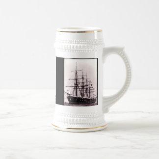 HMS Agincourt 1865 Beer Steins