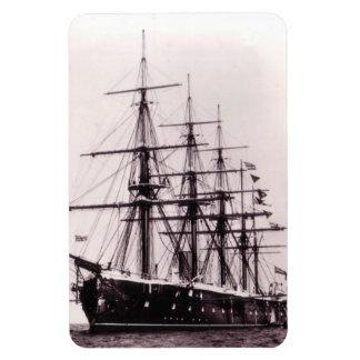 HMS Agincourt 1865 Vinyl Magnets