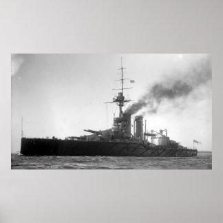 HMS Audacious Posters
