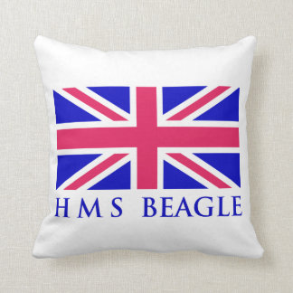 HMS Beagle UK Flag Cushion