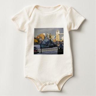 HMS Belfast. Baby Bodysuit