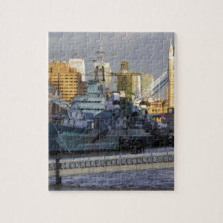 HMS Belfast. Jigsaw Puzzle