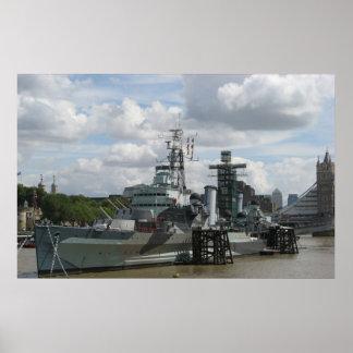 HMS Belfast Print