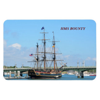 HMS BOUNTY RECTANGULAR PHOTO MAGNET