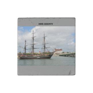 HMS Bounty Stone Magnet