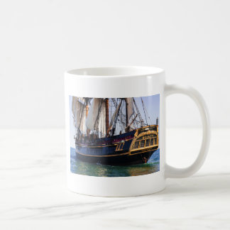HMS Bounty Tall Ship Basic White Mug