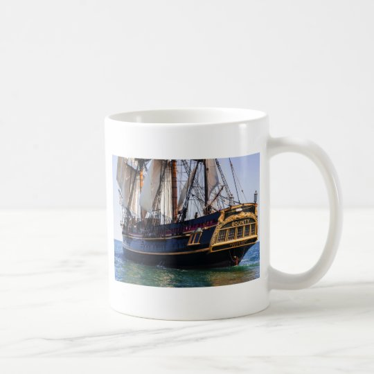 HMS Bounty Tall Ship Coffee Mug