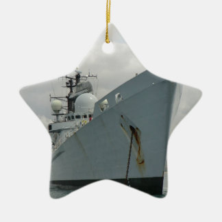 HMS Edinburgh Ceramic Star Decoration