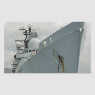 HMS Edinburgh Rectangular Sticker