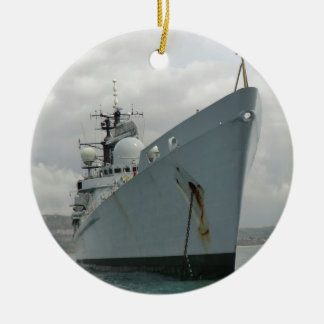 HMS Edinburgh Round Ceramic Decoration