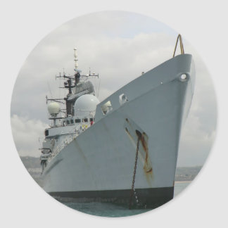 HMS Edinburgh Round Sticker