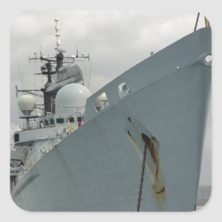 HMS Edinburgh Square Sticker